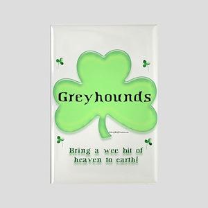 Greyhound Heaven Rectangle Magnet