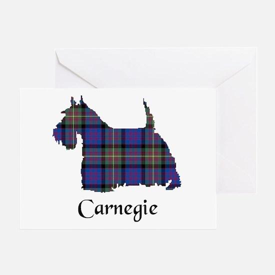 Terrier - Carnegie Greeting Card