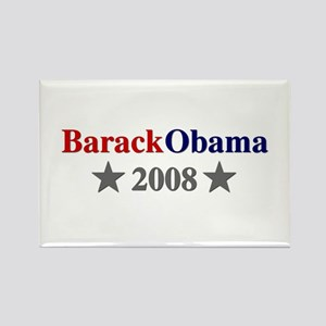::: Barack Obama - Simple ::: Rectangle Magnet