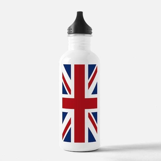 union-jack_18x12-5 Water Bottle