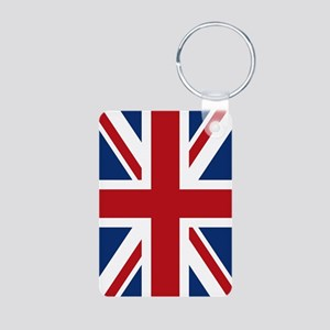 union-jack_18x12-5 Aluminum Photo Keychain