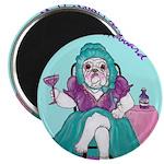 Bulldog Mother Hubbard Magnet