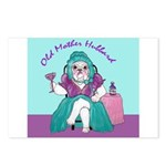 Bulldog Mother Hubbard Postcards (Package of 8)