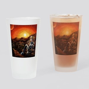Music From Mars Drinking Glass