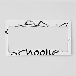schoolieblack License Plate Holder