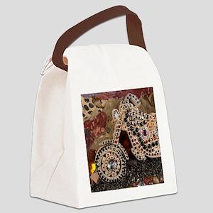 motorcycle keepsake box Canvas Lunch Bag