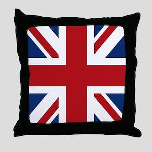 union-jack_snap-ipad Throw Pillow