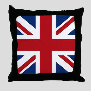 union-jack_snap-wallet Throw Pillow