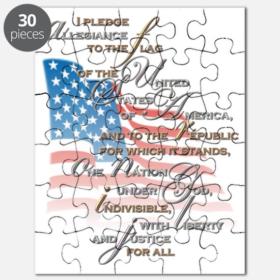 US PLEDGE OF ALLEGIANCE2 Puzzle