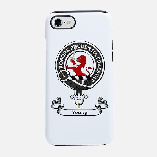 Badge-Young [Forfar] iPhone 7 Tough Case
