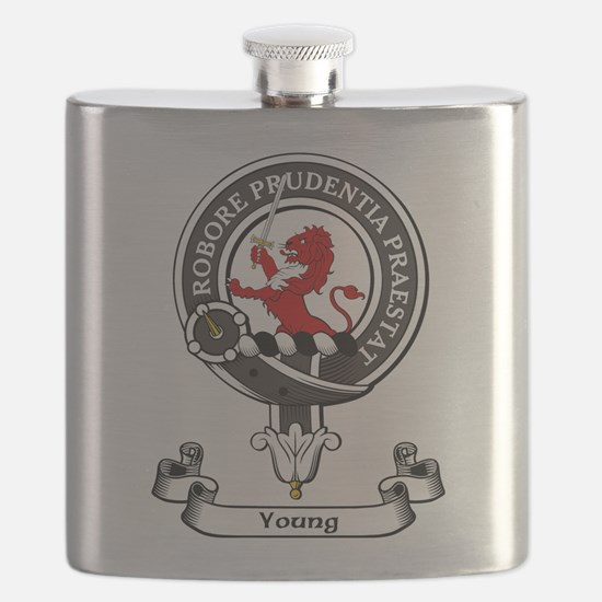 Badge-Young [Forfar] Flask