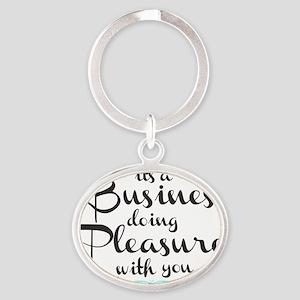 Biz-Pleasure Oval Keychain