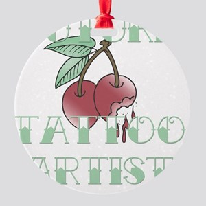 FutureTattooArtist Round Ornament
