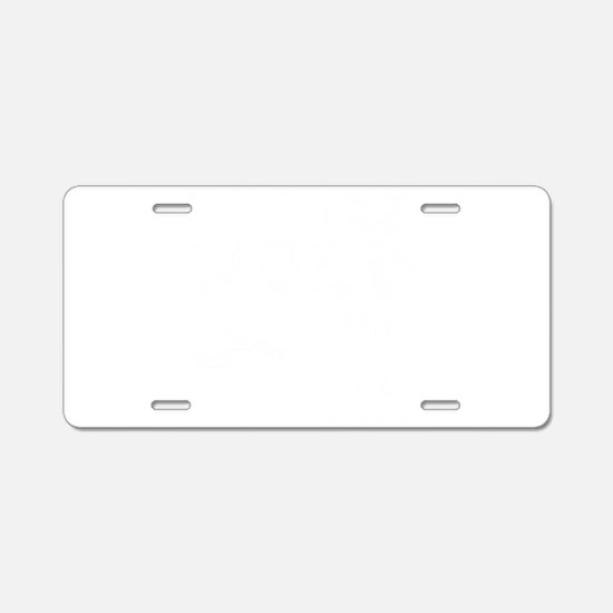 Woodworking Aluminum License Plate