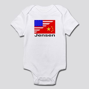 Jensen Flags Infant Bodysuit