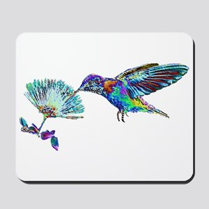 NEON HUMMINGBIRD Mousepad