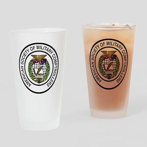 ASMC color logo hi Drinking Glass