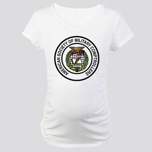 ASMC color logo hi Maternity T-Shirt