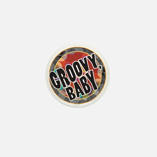 Groovy Baby Mini Button