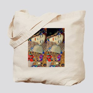 Klimt Kiss FF Tote Bag