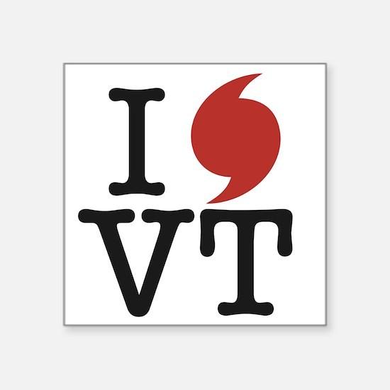 """I-rene-VT-1 Square Sticker 3"""" x 3"""""""