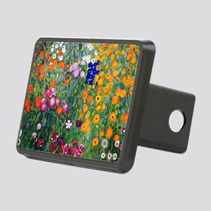 Klimt Flowers Beach Rectangular Hitch Cover