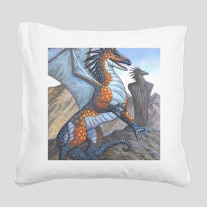 clanform16x20product Square Canvas Pillow