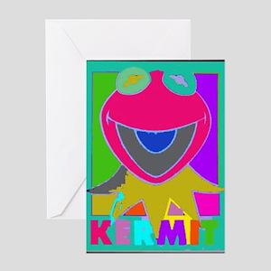 Kermit stationery cafepress kermit greeting card m4hsunfo