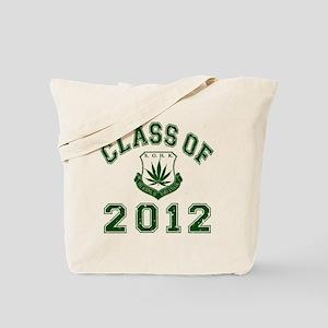 CO2012 SOHK Weed Green Distressed Tote Bag