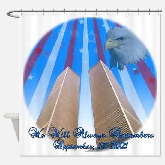 Memorial WTC Shower Curtain