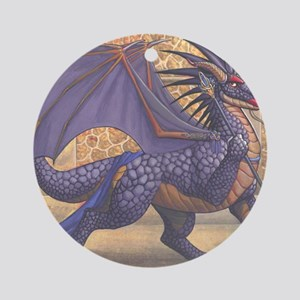 ravenwing16x20product Round Ornament