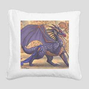 ravenwing16x20product Square Canvas Pillow