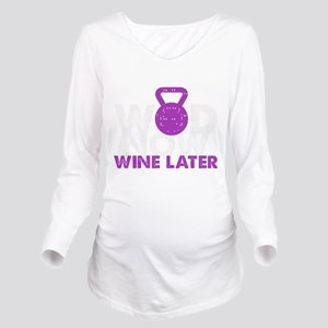 Wod Now Wine Later T-Shirt