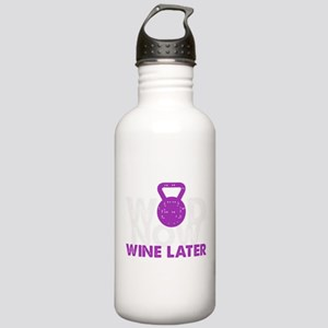 Wod Now Wine Later Stainless Water Bottle 1.0L