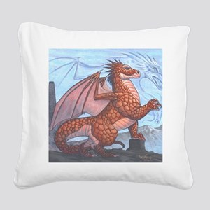 firewall16x20product Square Canvas Pillow