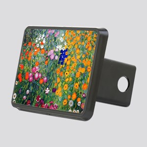 Klimt Flowers Toiletry Rectangular Hitch Cover