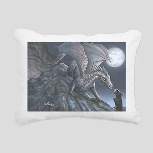 blackwind5x7card Rectangular Canvas Pillow