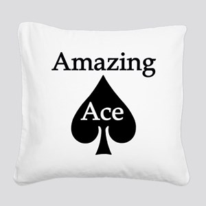 AAlightBGready Square Canvas Pillow