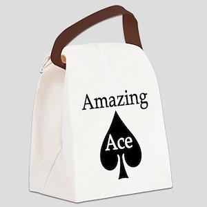 AAlightBGready Canvas Lunch Bag