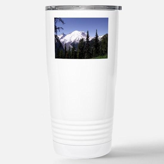 Mt. Rainier Stainless Steel Travel Mug
