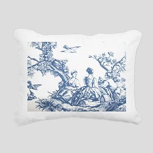 toilelaptopskin Rectangular Canvas Pillow