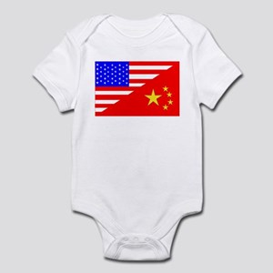 Adoption Flags Infant Bodysuit