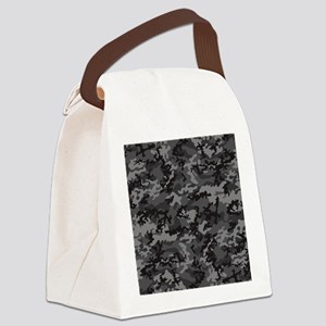Stadium-Blanket Canvas Lunch Bag