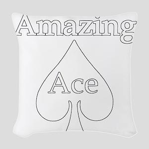 AAdarkBGready Woven Throw Pillow