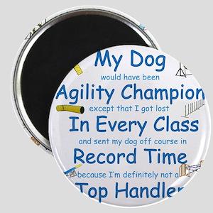 Agility Top Handler Magnet