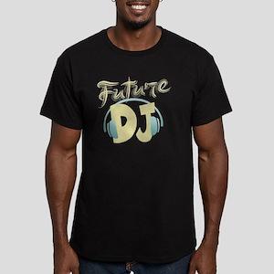 FutureDJ Men's Fitted T-Shirt (dark)