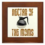 Nectar of the Moms Framed Tile