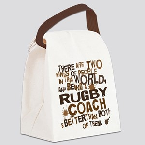 rugbycoachbrown Canvas Lunch Bag