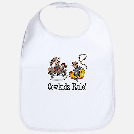 Cowkids Rule! Bib
