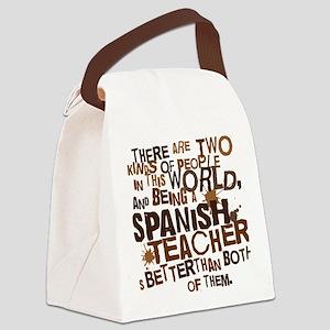 spanishteacherbrown Canvas Lunch Bag